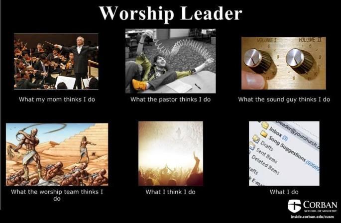 Worship Leader Job Description